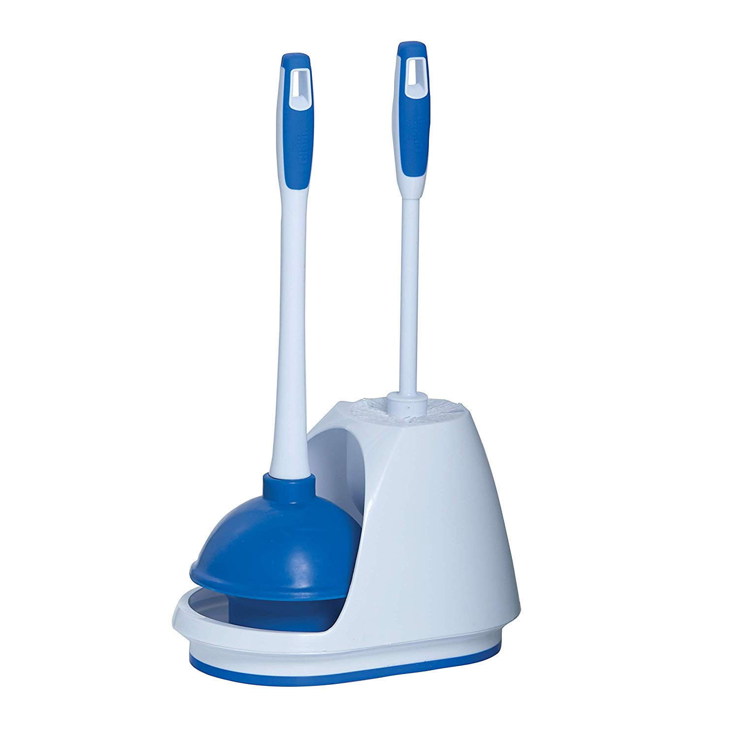MR. CLEAN TURBO PLUNGER AND BOWL BRUSH CADDY SET TOILET BRUSH