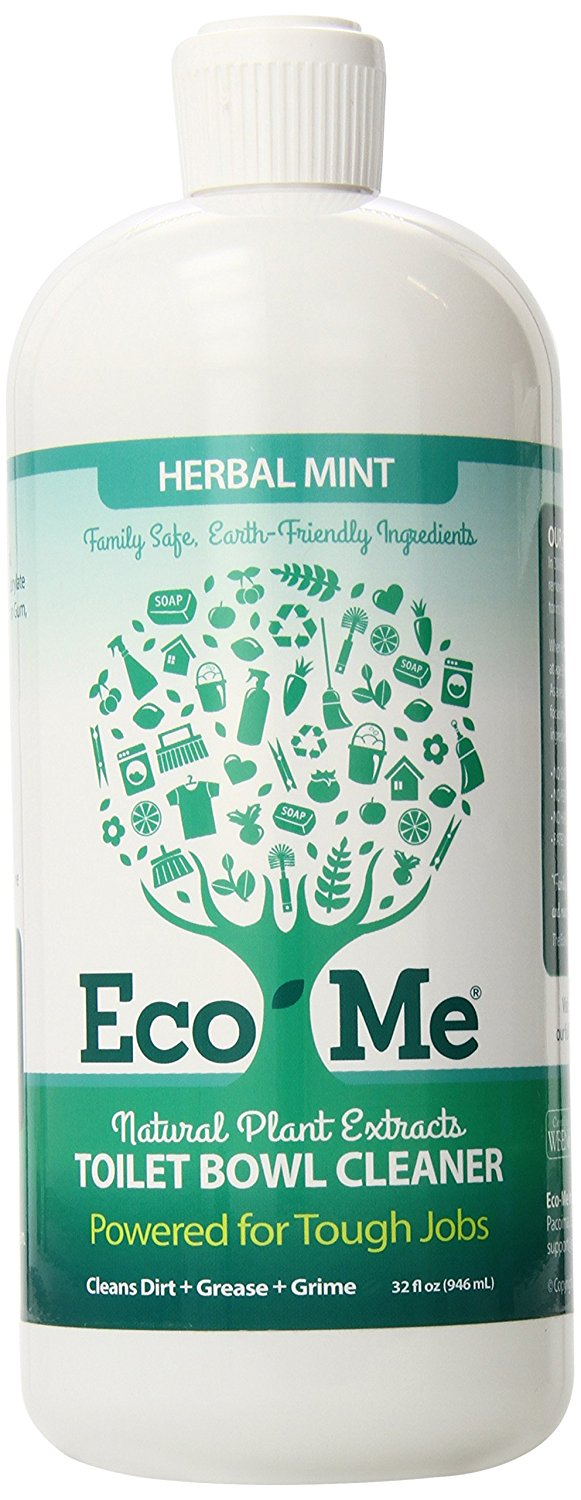 Eco-Me Powerful Natural Toilet Bowl Cleaner