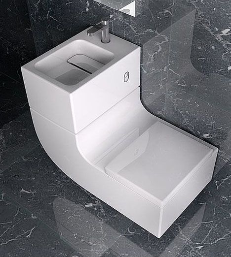 Roca Toilet Sink Combo